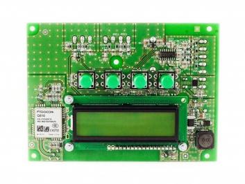 System pomiarowy z komunikacją GSM i GPRS